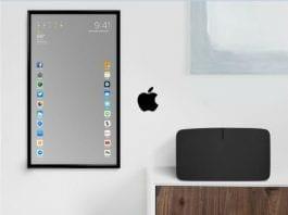 Apple touchscreen mirror