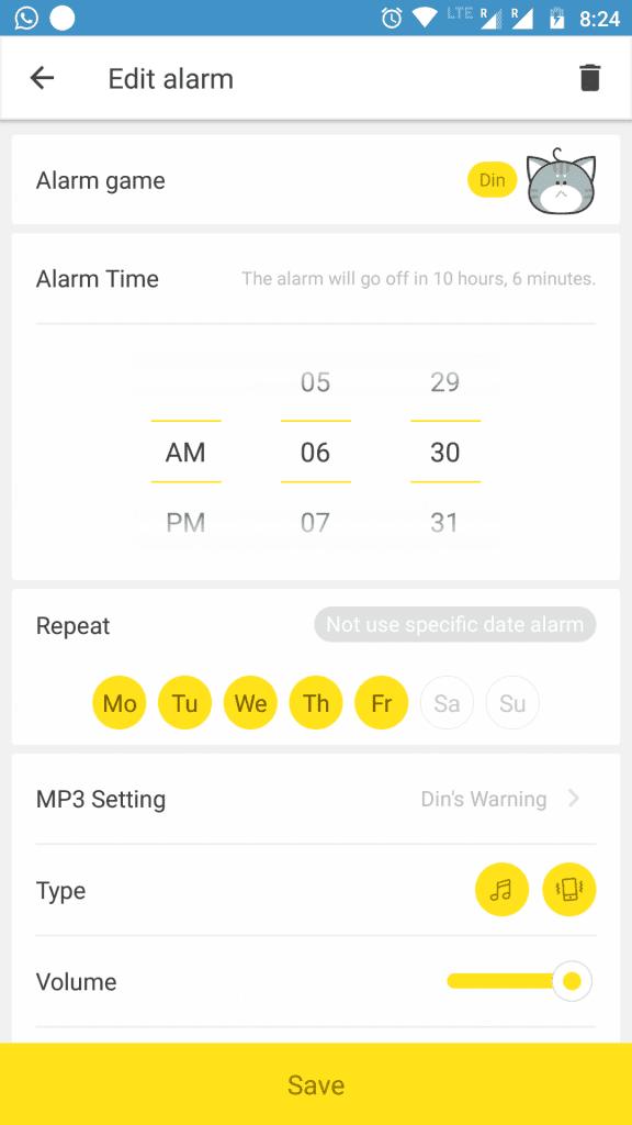 AlarmMon Android Alarm Clock