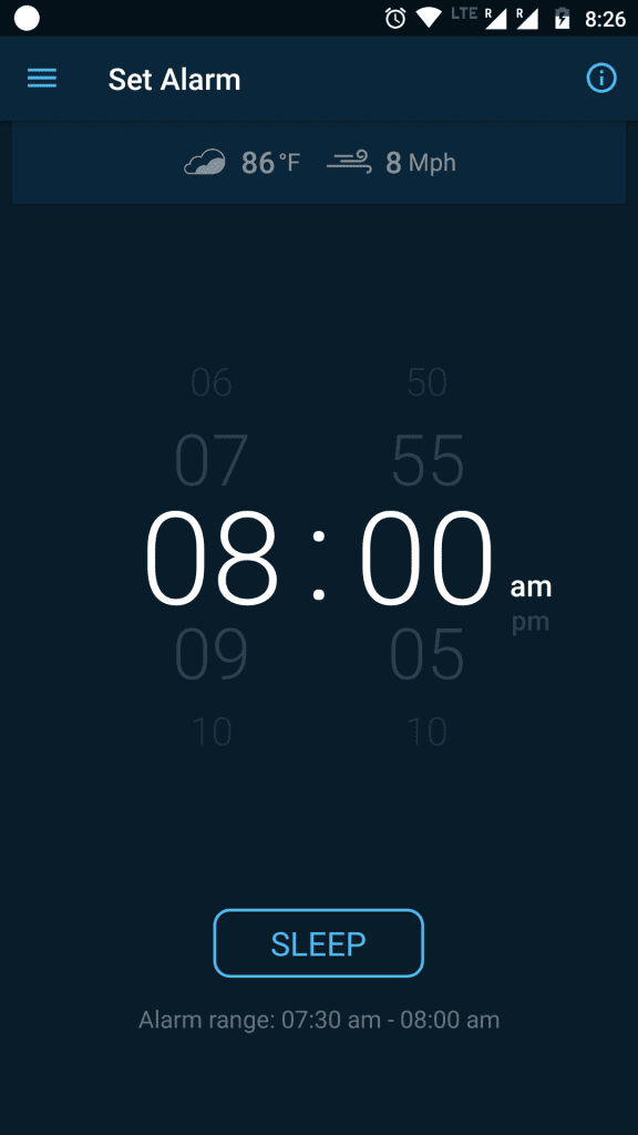 Good morning Android alarm clock
