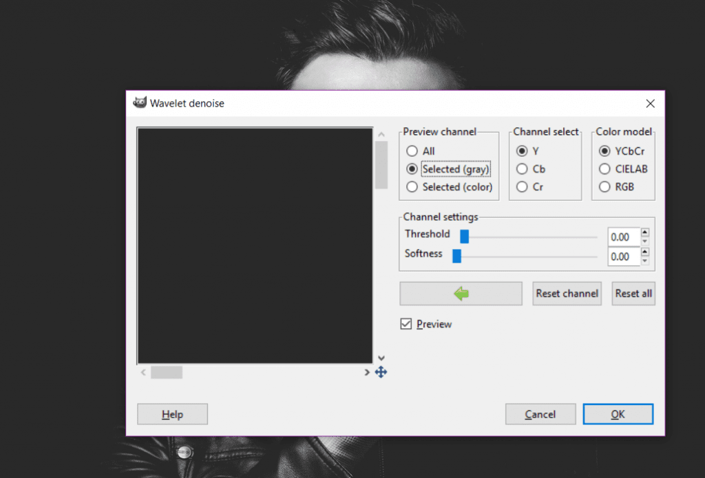 Wavelet Denoise - GIMP plugins