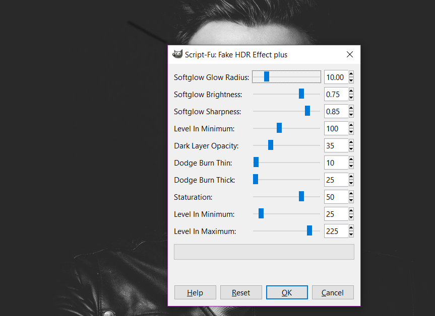 Fake High Dynamic Range - GIMP plugins