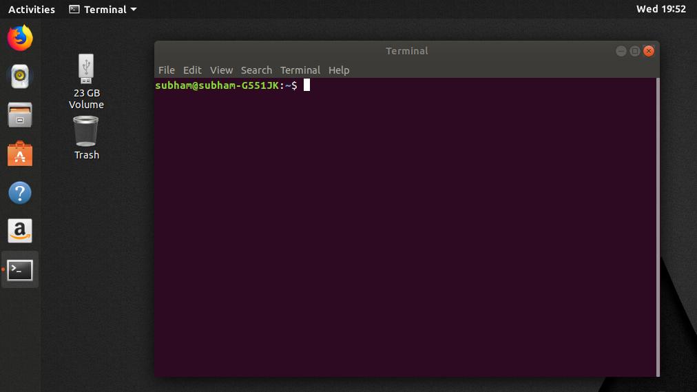 Linux-terminal - install Kodi