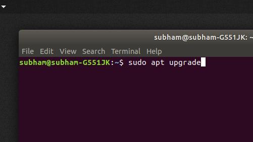sudo-apt-upgrade - install Kodi