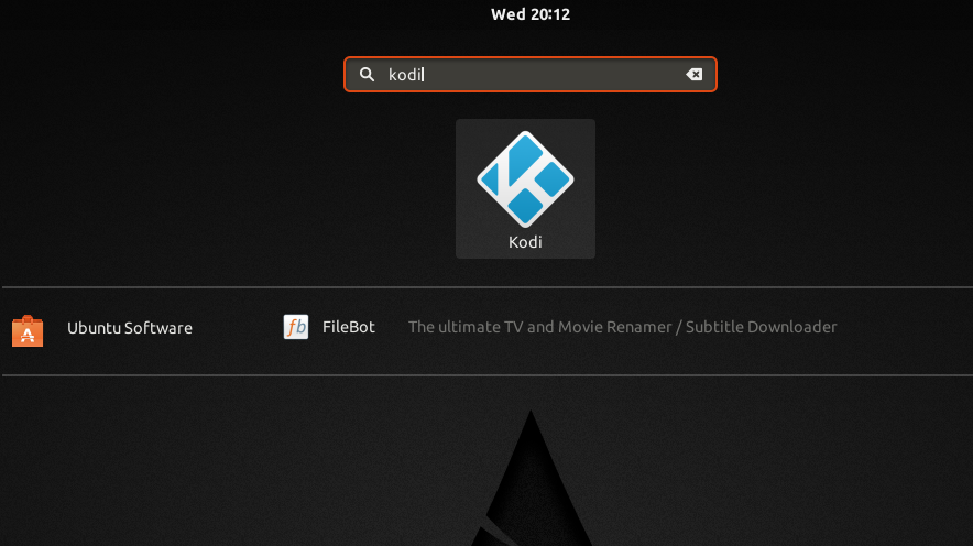 Searching Kodi