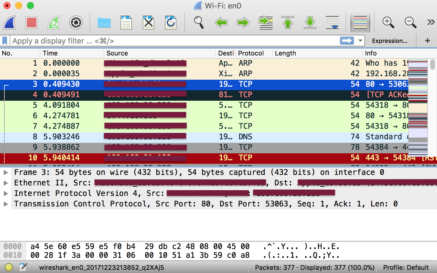 Wireshark introduction