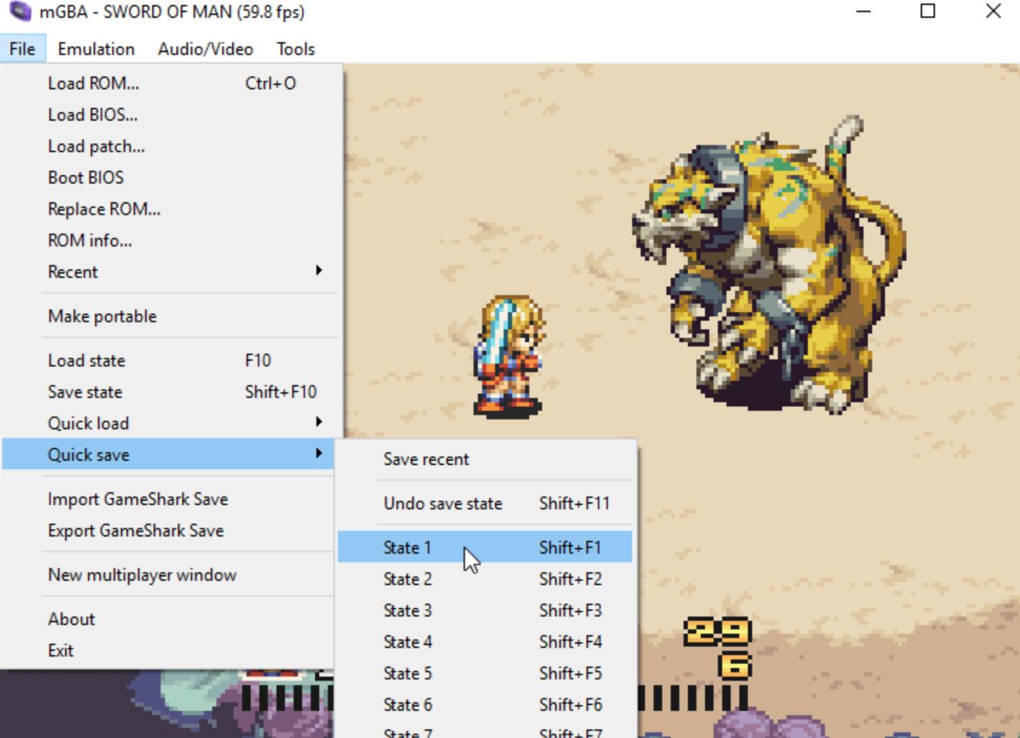 mGBA Emulator