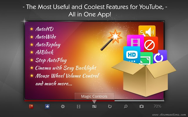 Magic Actions for YouTube