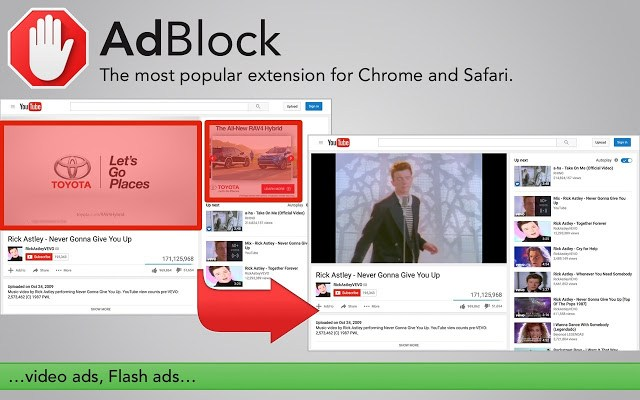 AdBlock- block unwanted ads
