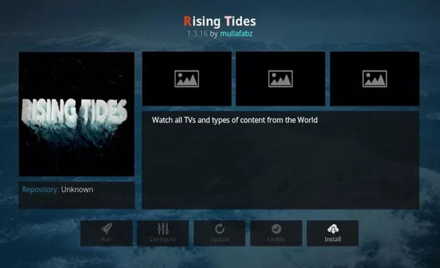 Rising Tides - Kodi add-ons