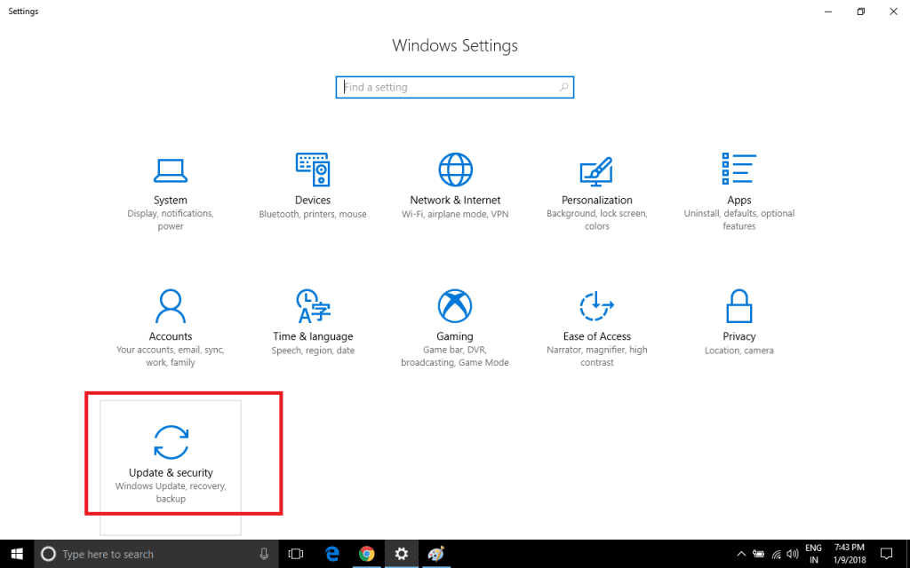 enable Windows laptop tracking