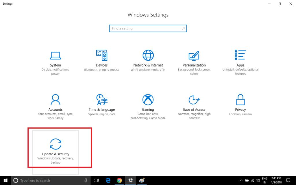 enable Windows laptop tracking