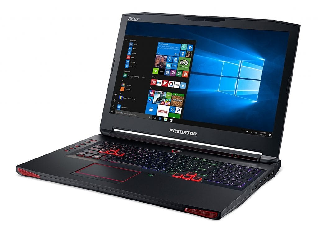 Acer Predator 17 - gaming laptops