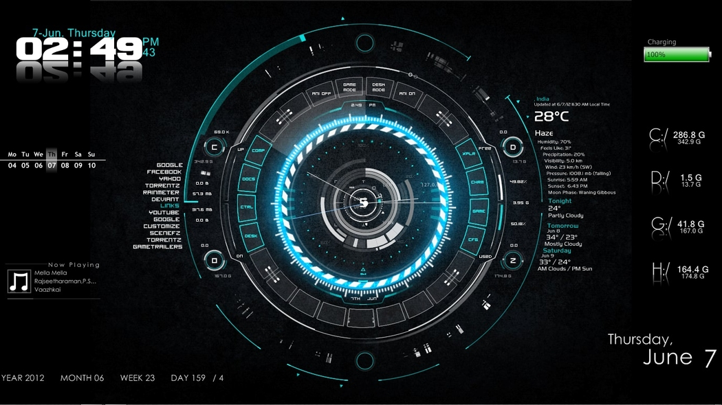 best-rainmeter-skin-1