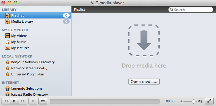 VLC - Mac media players