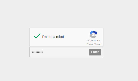 verify CAPTCHA