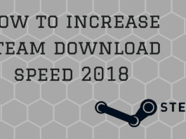 Increase steam download speed