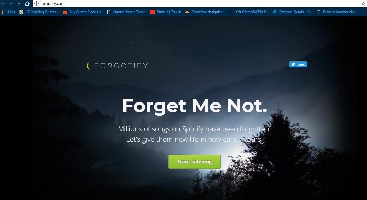 forgetify