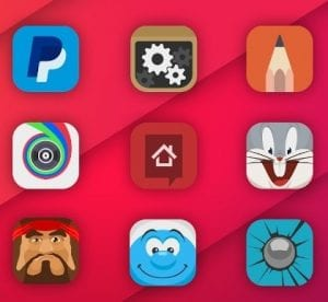 Adastra- android icon packs