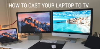 Cast Your Laptop to TV