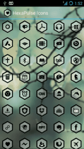 Hexa Pulse- android icon packs