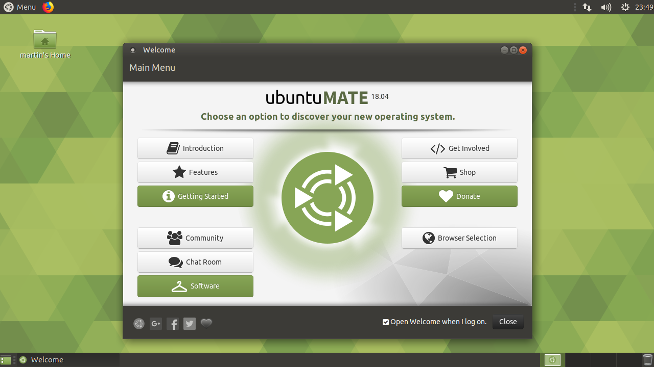 Ubuntu MATE – Best one for the old hardware