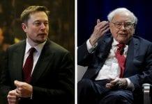 troll war between elon musk and Warren buffet