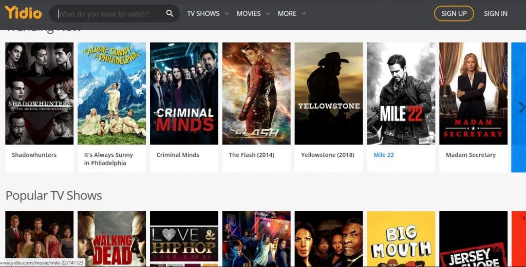 19 Best Sites for Free Movies Streaming Without Sign Up