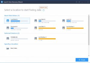 EaseUS Data Recovery Wizard: img 1