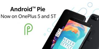 OnePlus 5 and OnePlus 5T Android Pie update