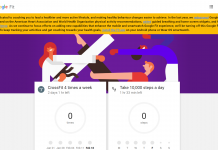Web Version of Google Fit