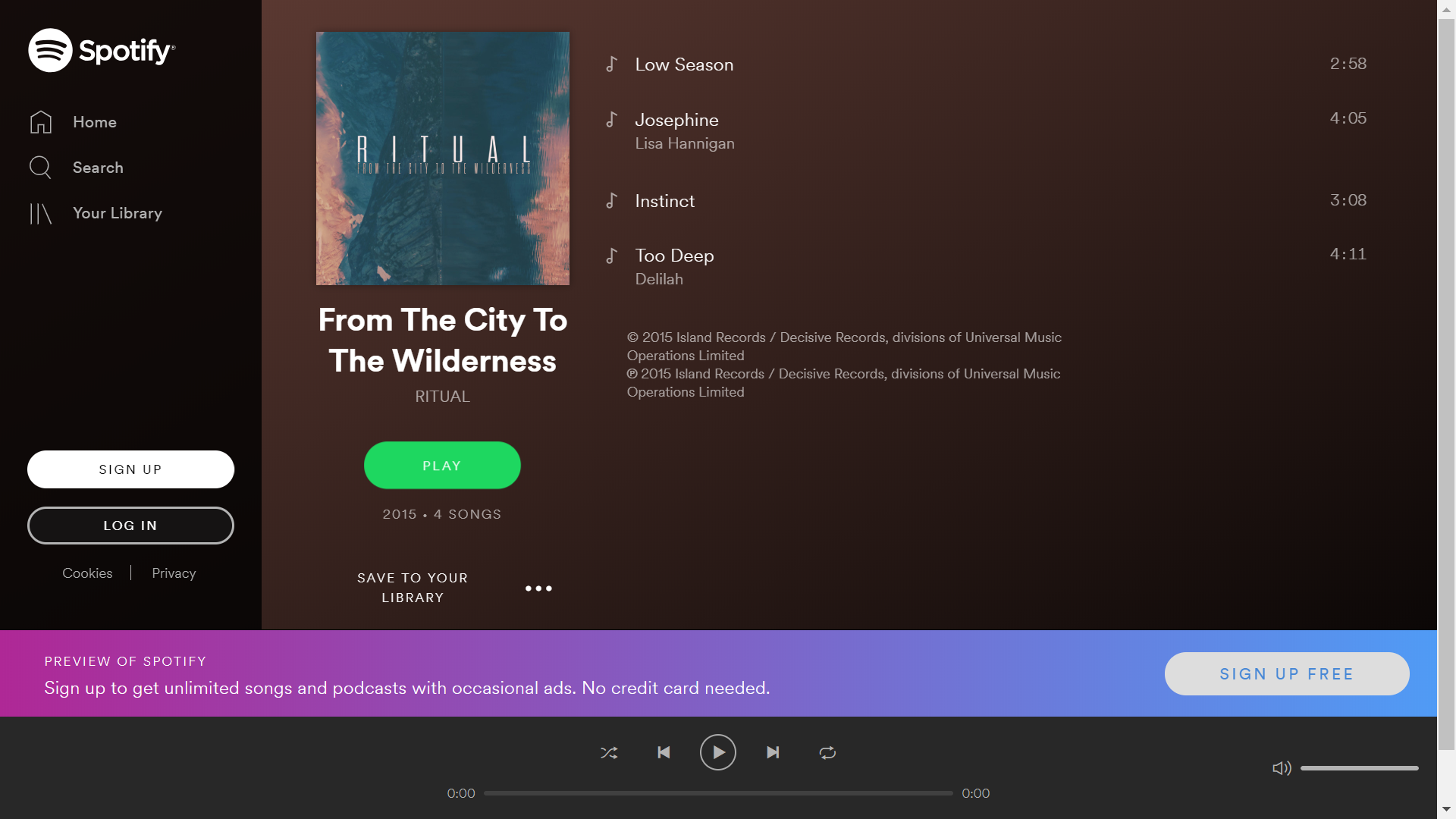 How To Use Spotify Web Player Through a Web Browser | Agatton