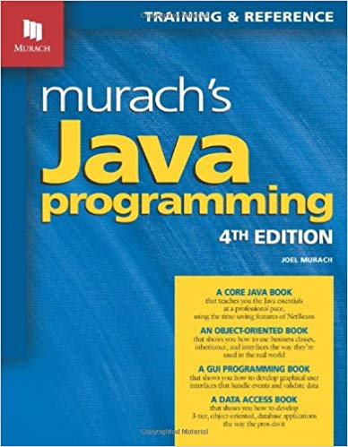 best programming book: murach's java programming