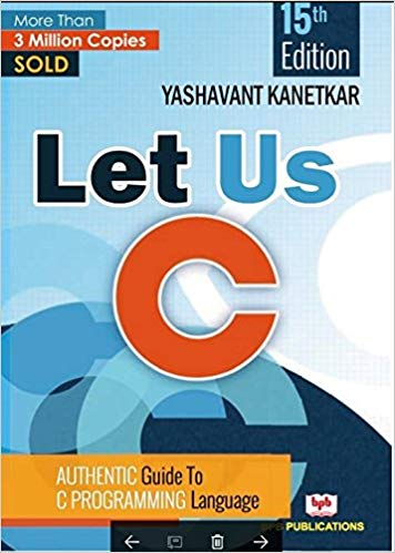 best programming books: Let Us C