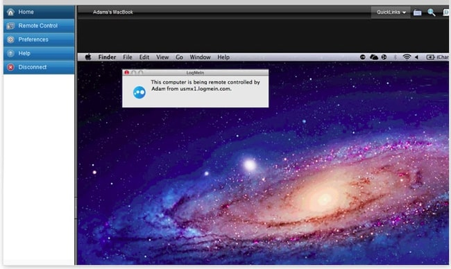 TeamViewer Alternative: LogMeIn