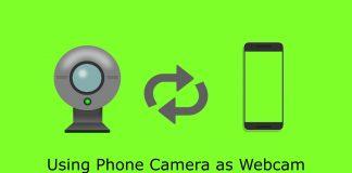 Thumbnail-Using Phone Camera as Webcam