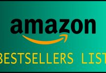 Amazon Bestsellers list