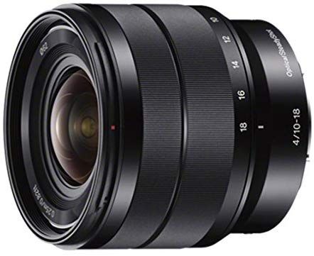 Sony E 10-18 mm f/4 OSS wide-angle lens